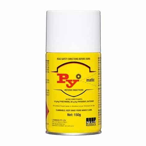 Pymatic metered aerosol by agserv