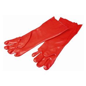 PVC Glove Red