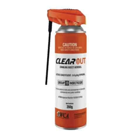 Clearout Crawling Insect Aerosol by Agserv