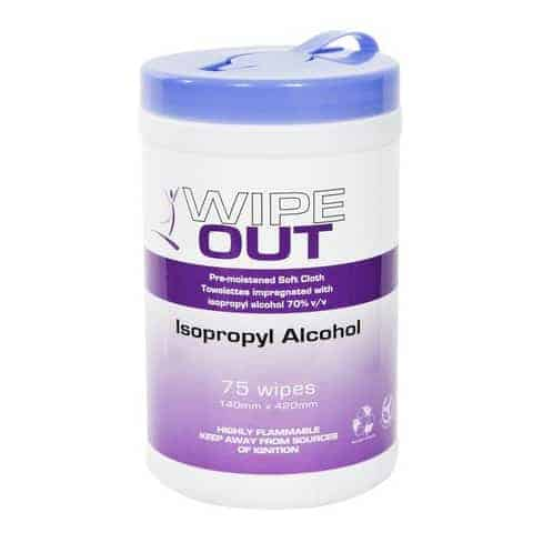Wipe Out Antibacterial Wipes by Agserv