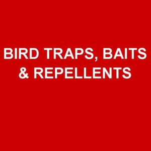 Bird Traps, Baits & Repellents