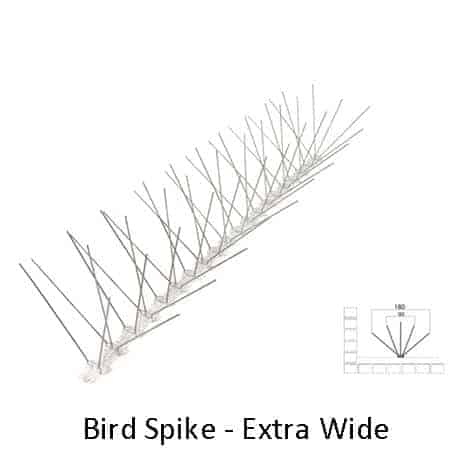 Extra Wide Bird Spike by Agserv